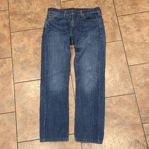 Vintage 90's Levi 513 denim jeans Strauss 32 X 32